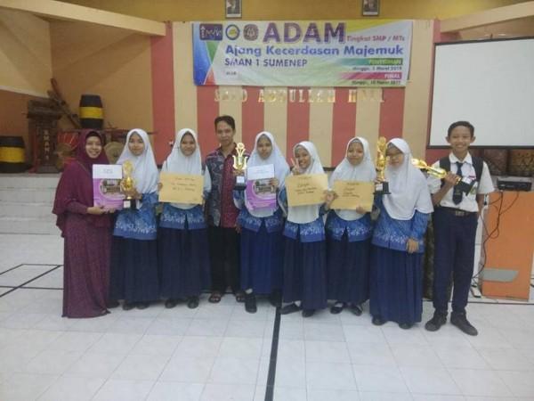 JUARA ADAM SMAN 1 SUMENEP 2019